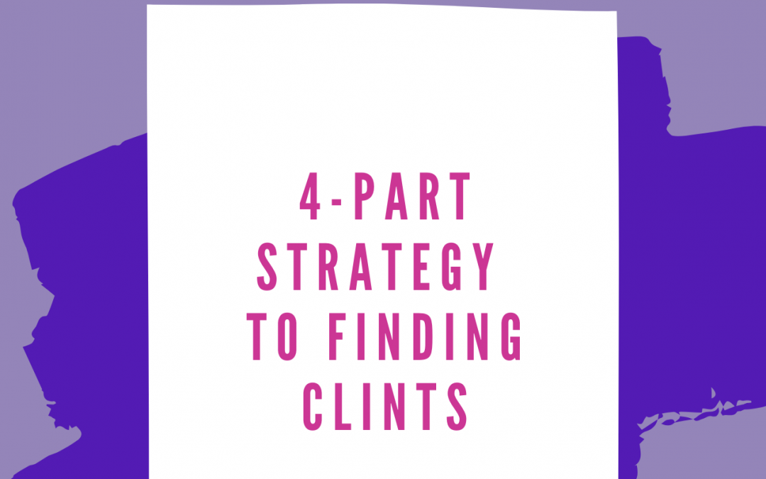 4 Part Strategy – Finding Clients